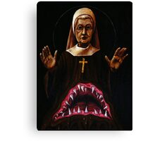 MonsterNun Canvas Print
