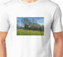 Flowering Meadow near Lake Constance Unisex T-Shirt