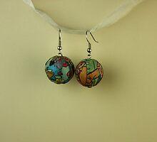 Comic earrings by RokCandi