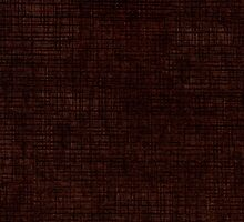 Dark brown striped parchment abstract by Arletta Cwalina