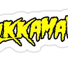 Pulkkamania! (yellow) Sticker