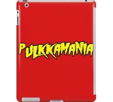 Pulkkamania! (yellow) iPad Case/Skin