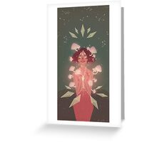 cosmos fungi Greeting Card