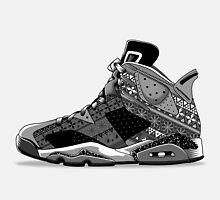Nike Air Jordan VI  by GODZILLARGE