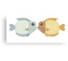Two Fish Canvas Print