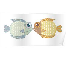 Two Fish Poster
