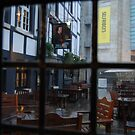 View from a pub in Manchester by Nancy Huenergardt