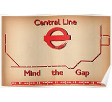 Central Line Poster