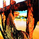 Dicky Beach Wreck by Cydell