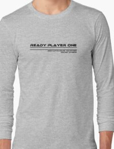 Ready Player One Long Sleeve T-Shirt