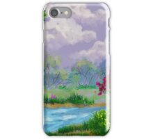 Spring Down By The Creek iPhone Case/Skin
