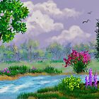Spring Down By The Creek by teresa731