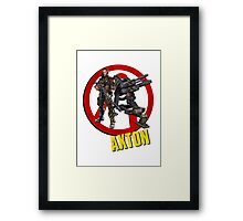 Axton Framed Print