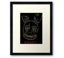 five nights 3 limited edition Framed Print