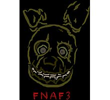 five nights 3 limited edition Photographic Print