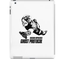 Hand-drawing Mission Impossible  iPad Case/Skin