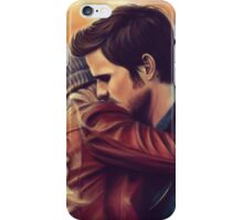 You put your arms around me iPhone Case/Skin