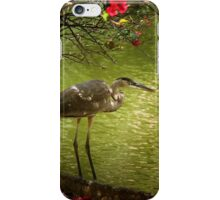The Blue Heron iPhone Case/Skin