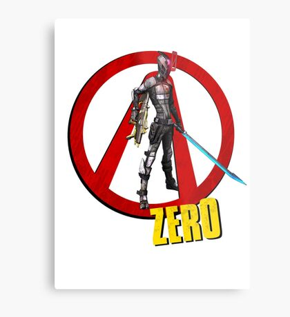Zer0 Metal Print