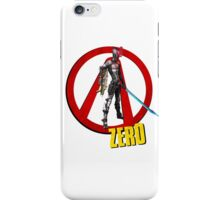 Zer0 iPhone Case/Skin