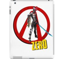 Zer0 iPad Case/Skin