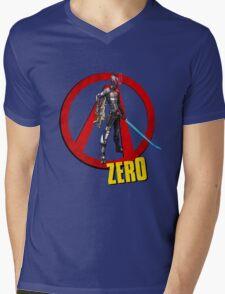 Zer0 Mens V-Neck T-Shirt