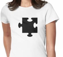 Puzzle piece Womens Fitted T-Shirt