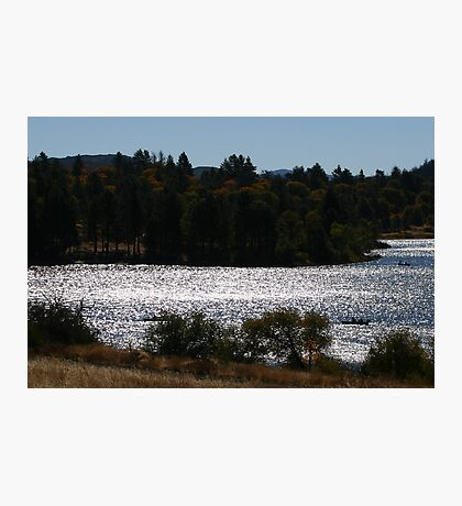 ramona lake Photographic Print