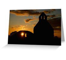 Abbeyshrule Abbey, Ireland Greeting Card