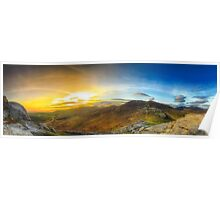 North Mournes from Hen Mountain Poster