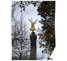 Victory Column, Berlin Poster