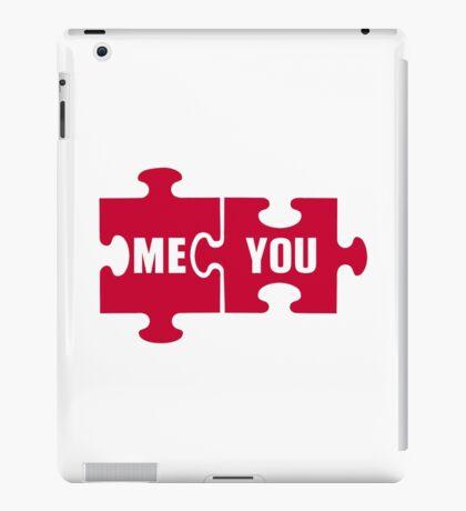 Jigsaw puzzle me you iPad Case/Skin