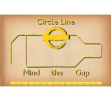Circle Line Photographic Print