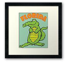 Florida Alligator Framed Print