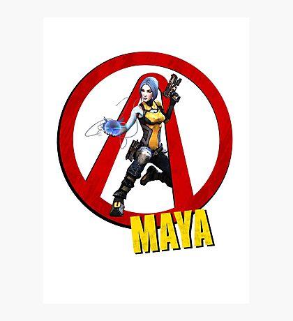 Maya Photographic Print
