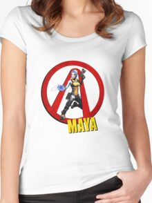 Maya Women's Fitted Scoop T-Shirt