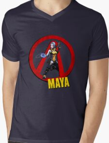 Maya Mens V-Neck T-Shirt