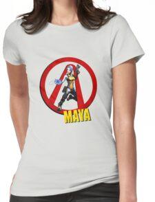 Maya Womens Fitted T-Shirt