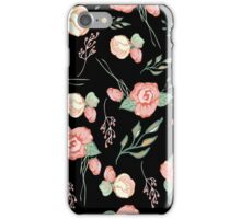 Seamless colorful floral pattern elements   iPhone Case/Skin