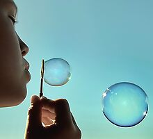 I dream of bubble by Basia McAuley