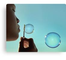 I dream of bubble Canvas Print
