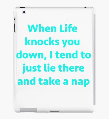 Take a nap iPad Case/Skin