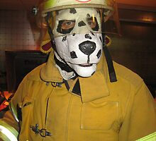 fireman dog by BOBBYBABE