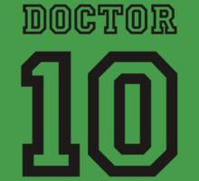 Doctor 10 Jersey Kids Clothes