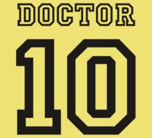 Doctor 10 Jersey One Piece - Short Sleeve