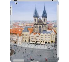 Old Town Square, Prague, Czech Republic iPad Case/Skin