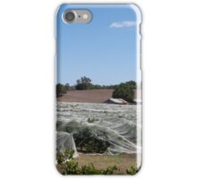 Vineyard near Angaston. Barossa Valley, Sth. Australia. iPhone Case/Skin