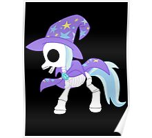 My Little Pony - Trixie Skeleton Magic Poster
