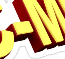 Big Bang Theory C-MEN Sticker