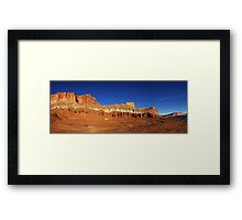Capitol Reef Panorama Framed Print